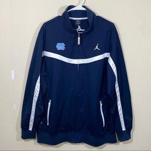 Nike Air Jordan UNC Tar Heels Basketball Jacket